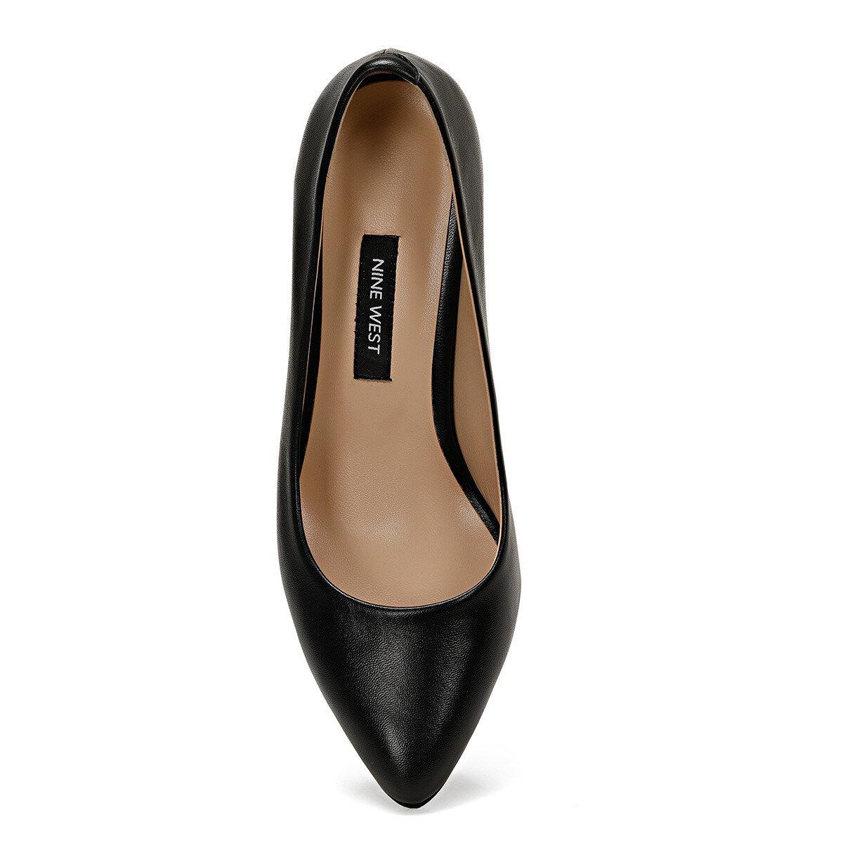 LEZANA Siyah Kadın Topuklu Ayakkabı