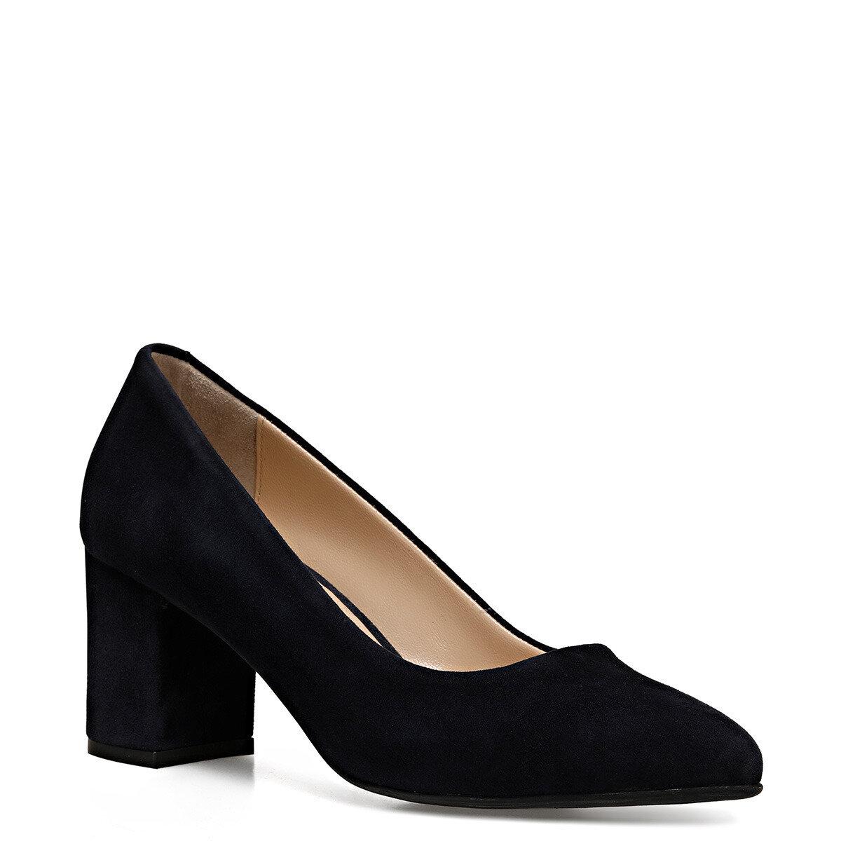 LEZANA2 Lacivert Kadın Topuklu Ayakkabı