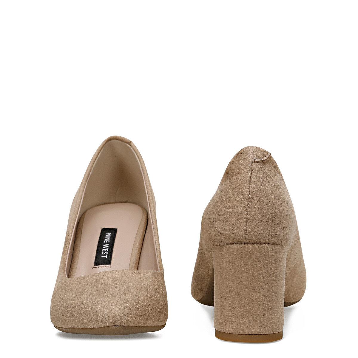 LEZIO2 Vizon Kadın Topuklu Ayakkabı