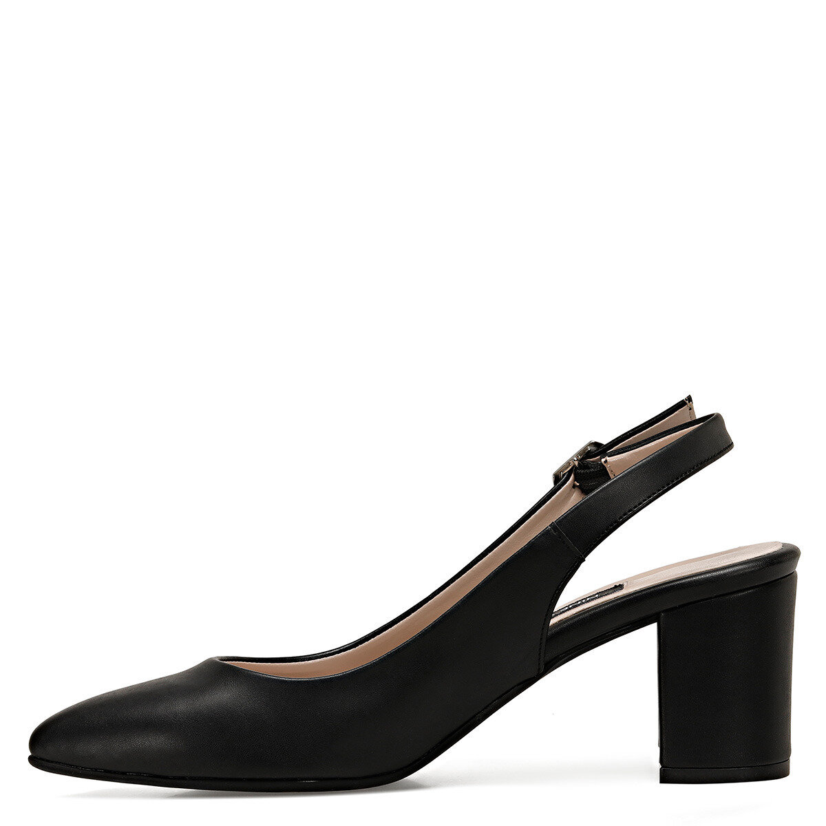 LIZETTO Siyah Kadın Topuklu Ayakkabı