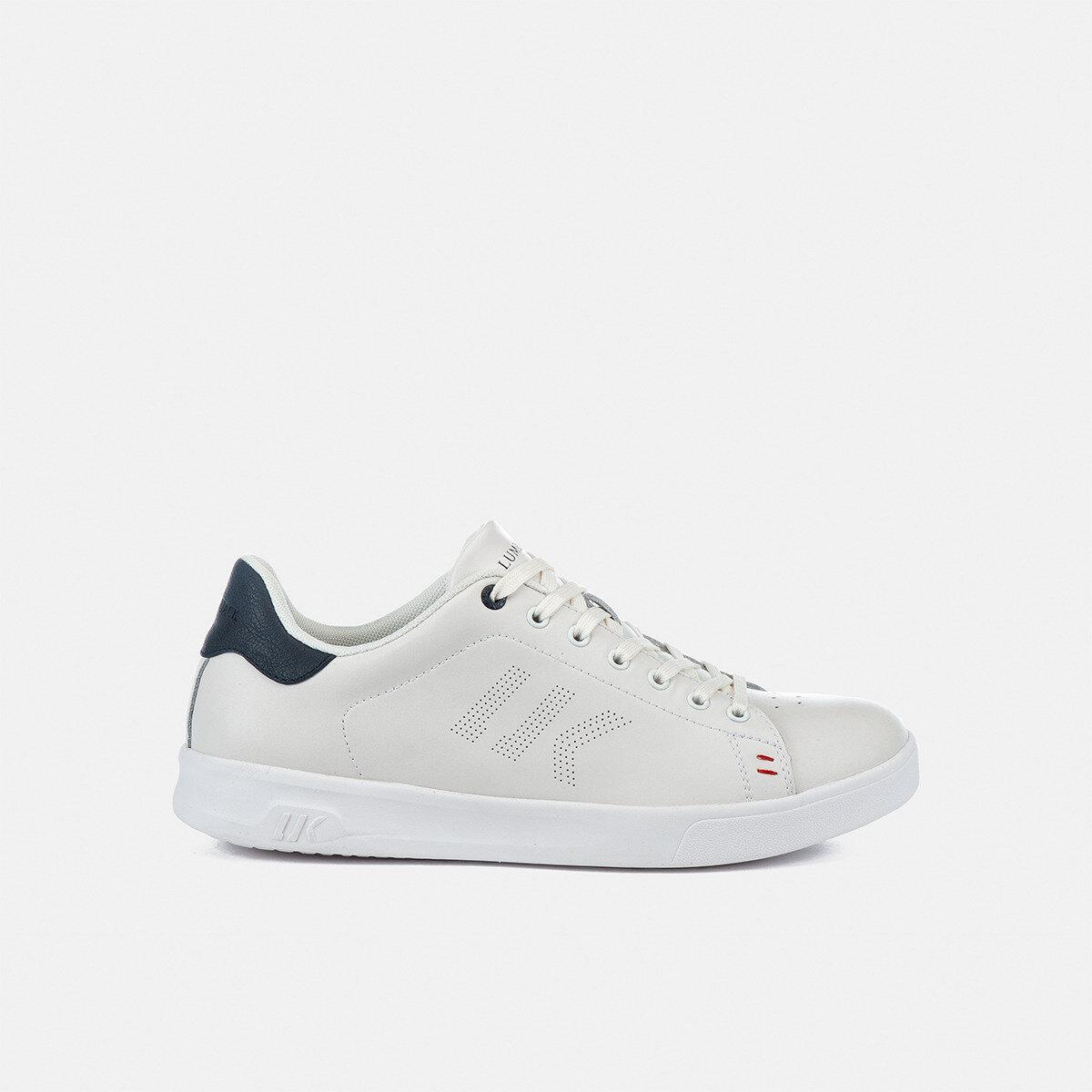 HAWK WHITE/NAVY BLUE Man Sneakers