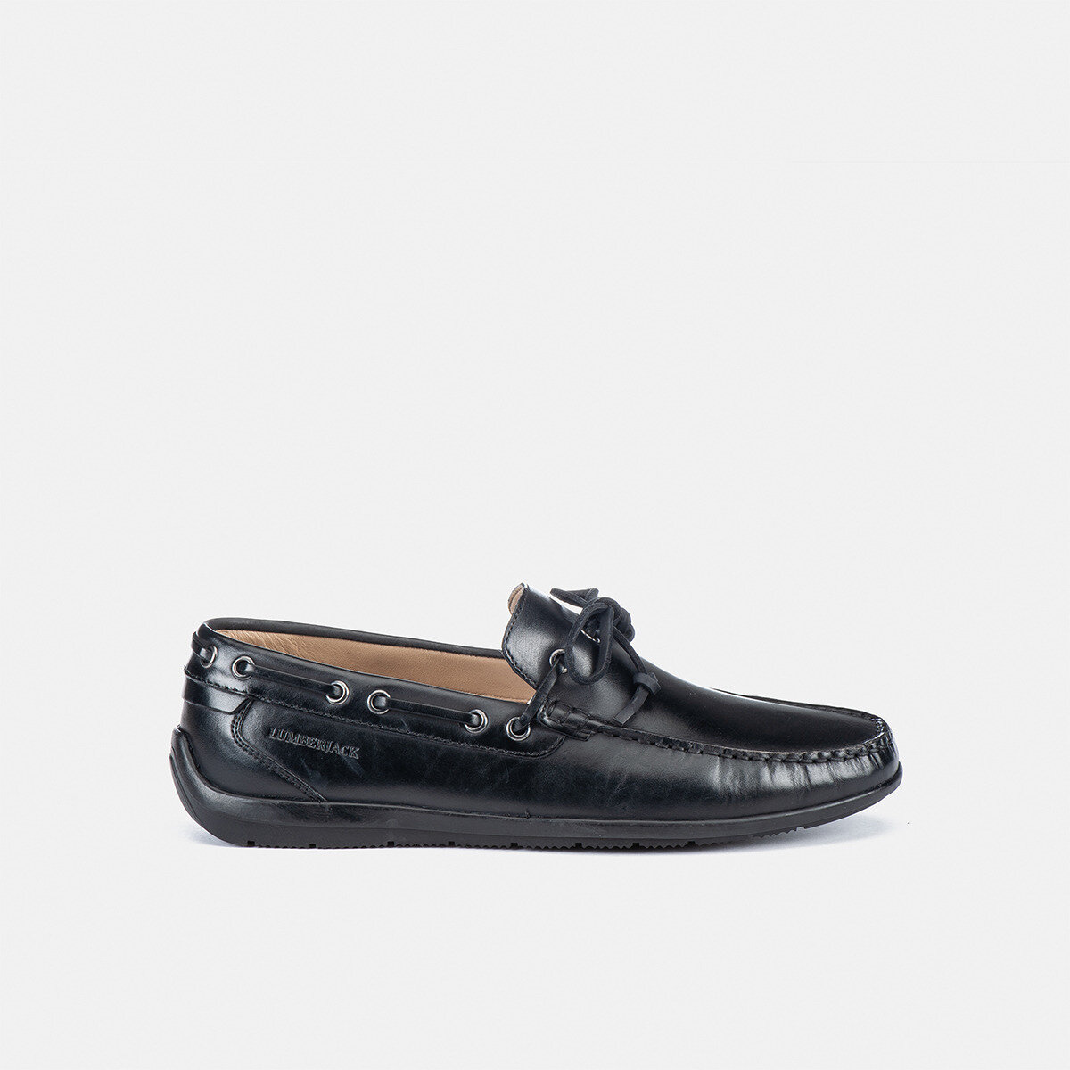 LEMAN BLACK Man Loafers