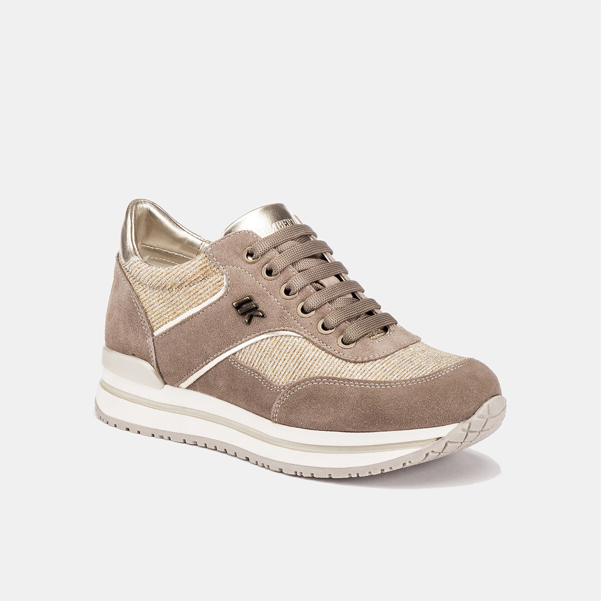 LIKE TAUPE/GOLD Woman Sneakers