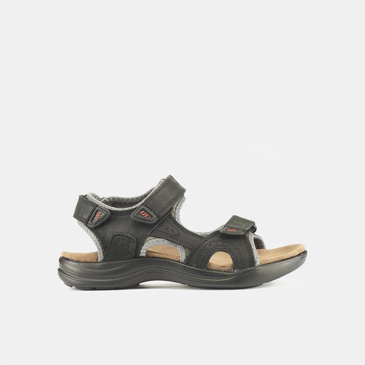EARTH BLACK Man Sandals