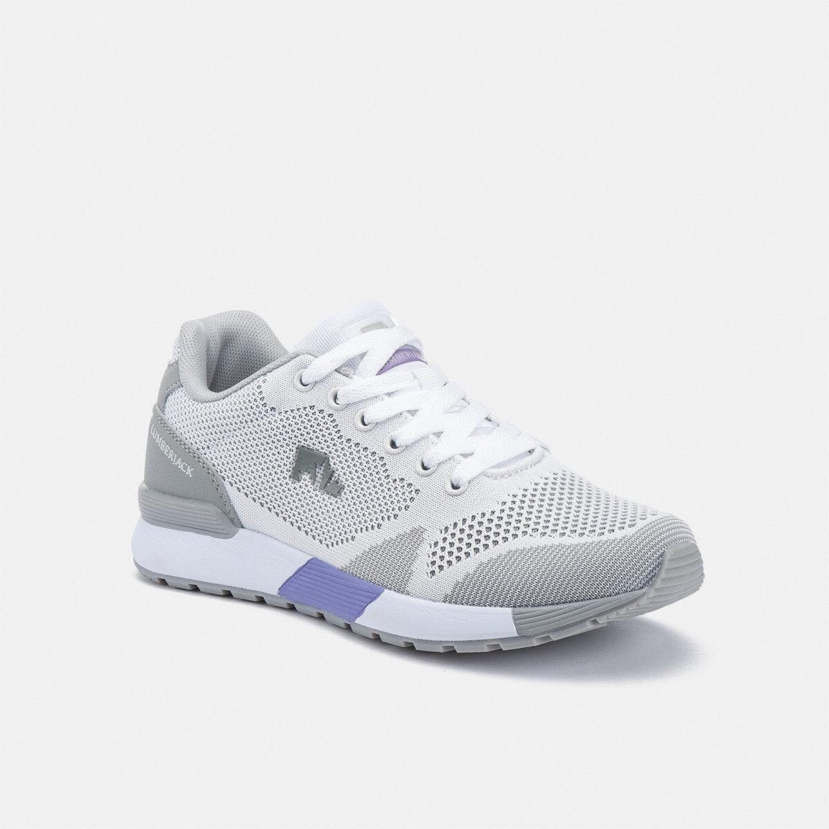 VENDOR WHITE/LT GREY Woman Running shoes
