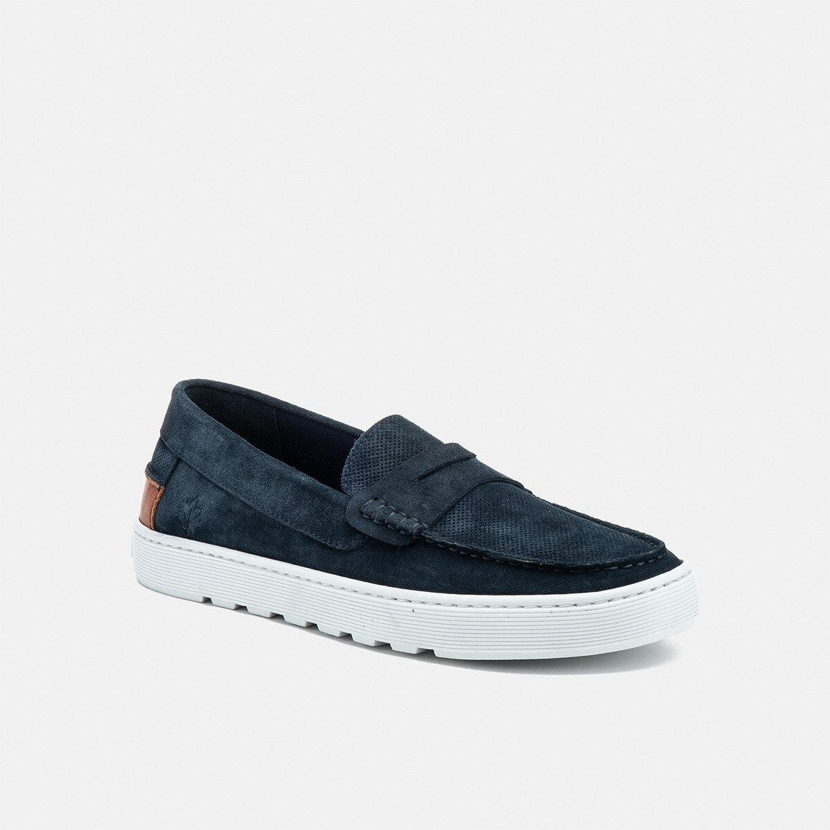 WAYNE UNIVERSE BLUE Man Loafers