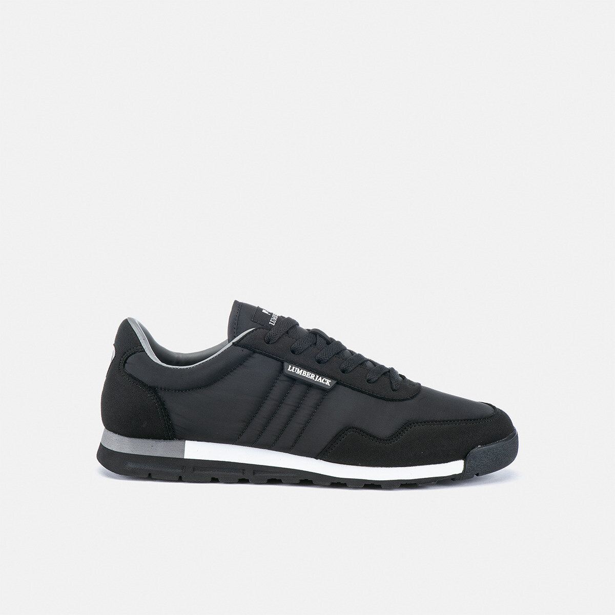 PEROV BLACK Man Running shoes