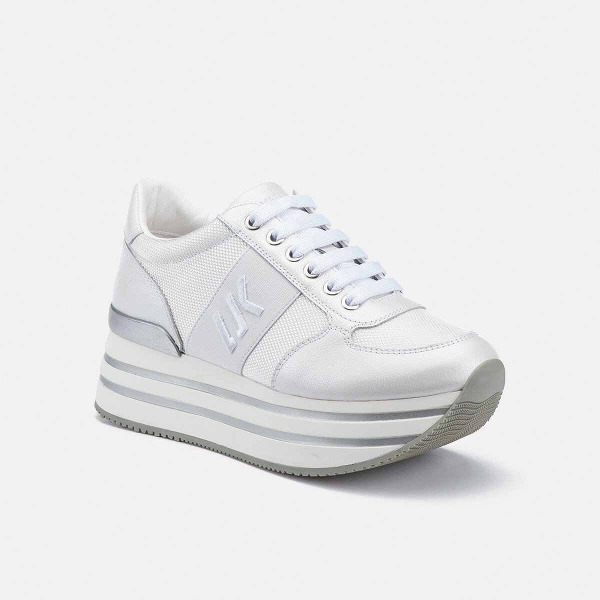CONNIE WHITE Woman Sneakers