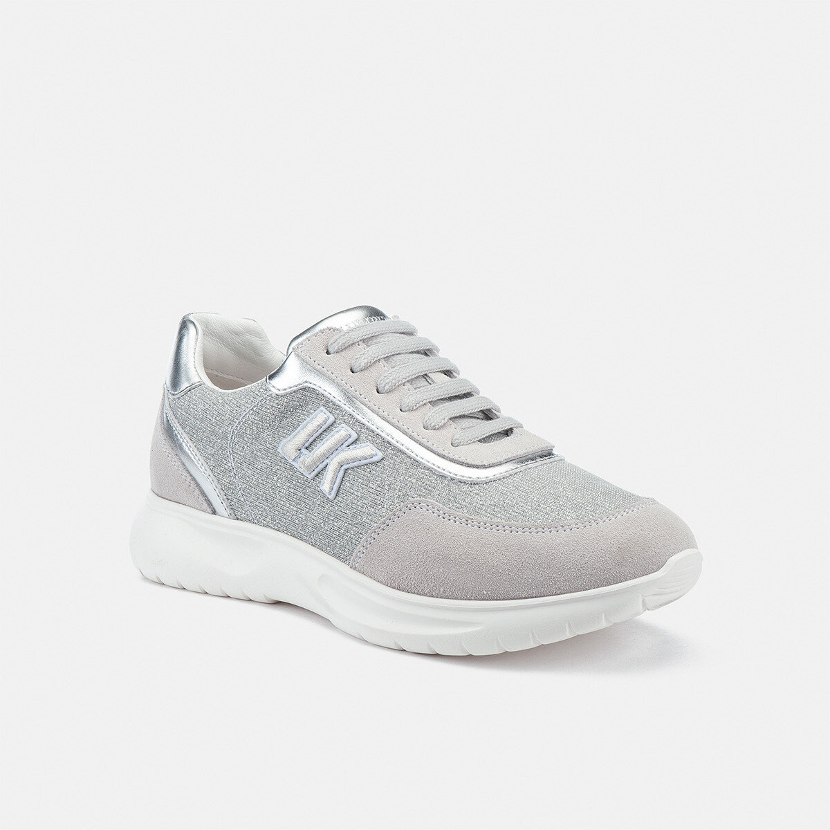 HAIL WHITE/SILVER Woman Sneakers