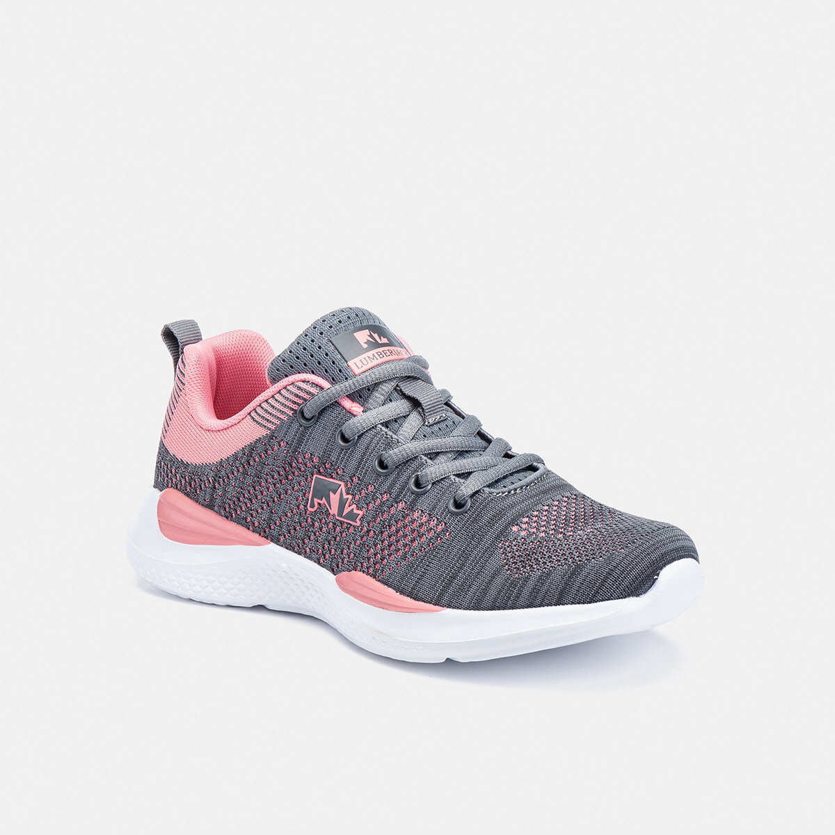 WALKY DK GREY/PINK Woman Running shoes