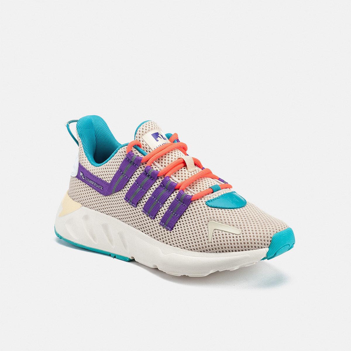 ELIUD BEIGE Woman Running shoes