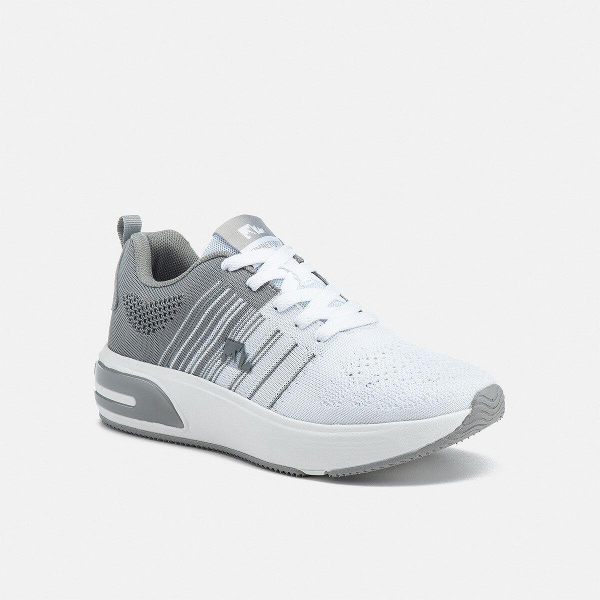 MIZUKI WHITE/LT GREY Woman Running shoes