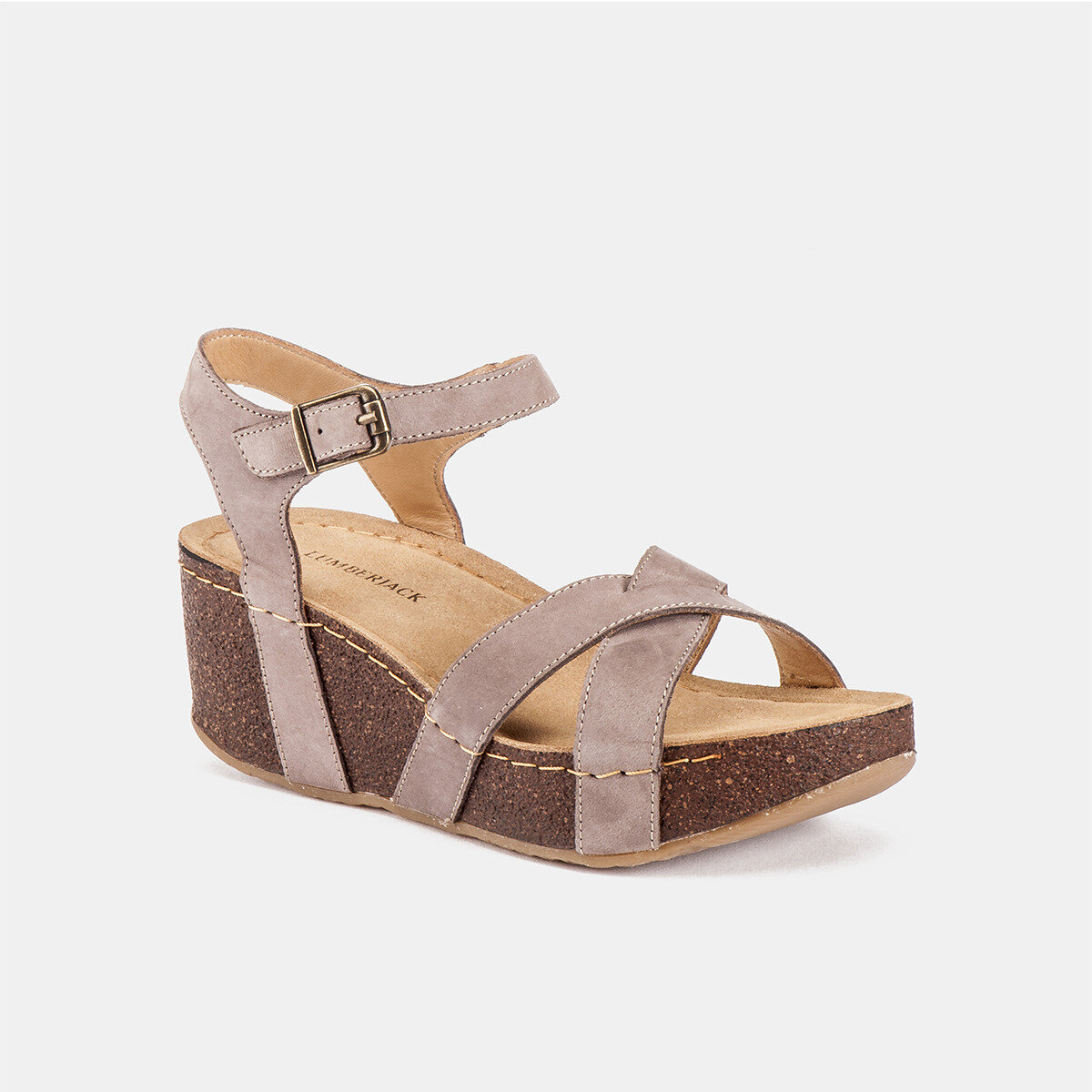 DOLLY Taupe Woman Sandals