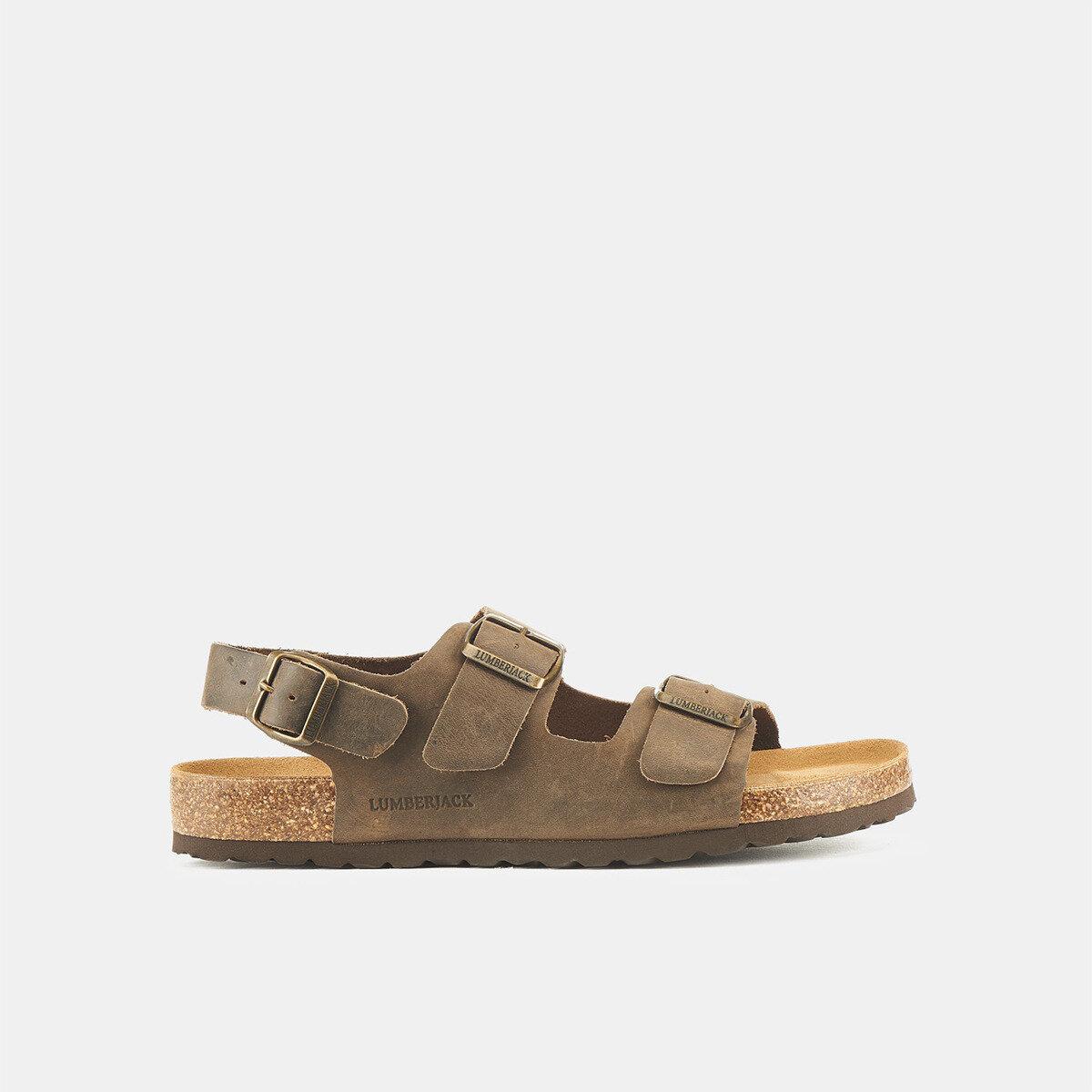 ISLA DK BROWN Man Sandals