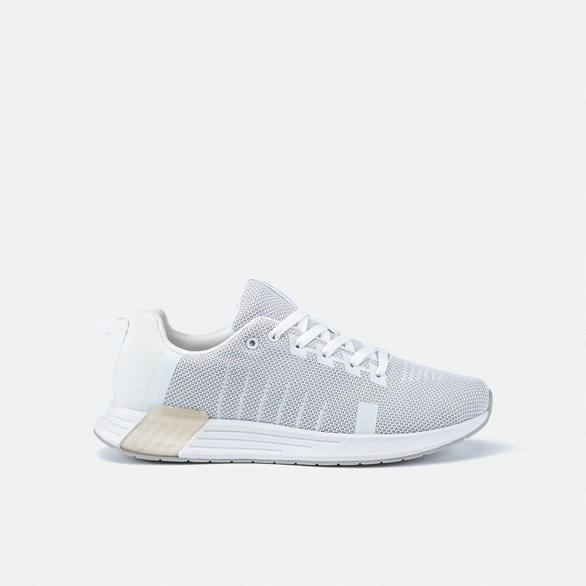 TEMPO WHITE/LT GREY Man Running shoes