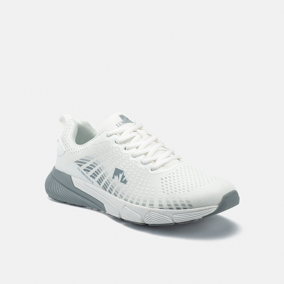 CHEN WHITE/GREY Man Running shoes