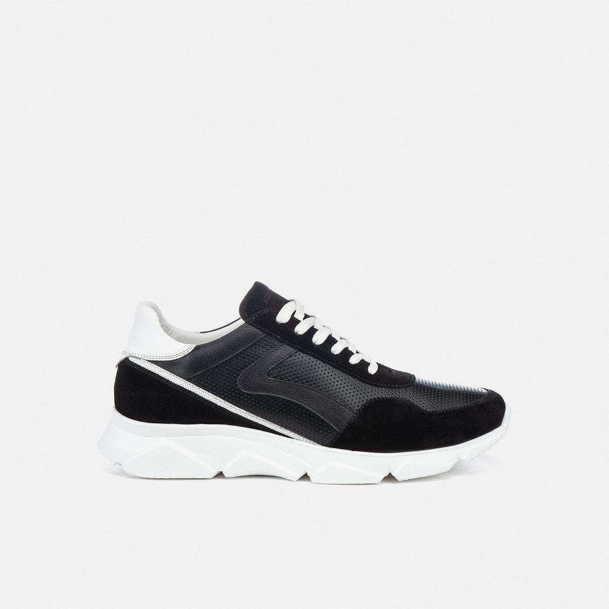 BERRET BLACK/WHITE Man Sneakers