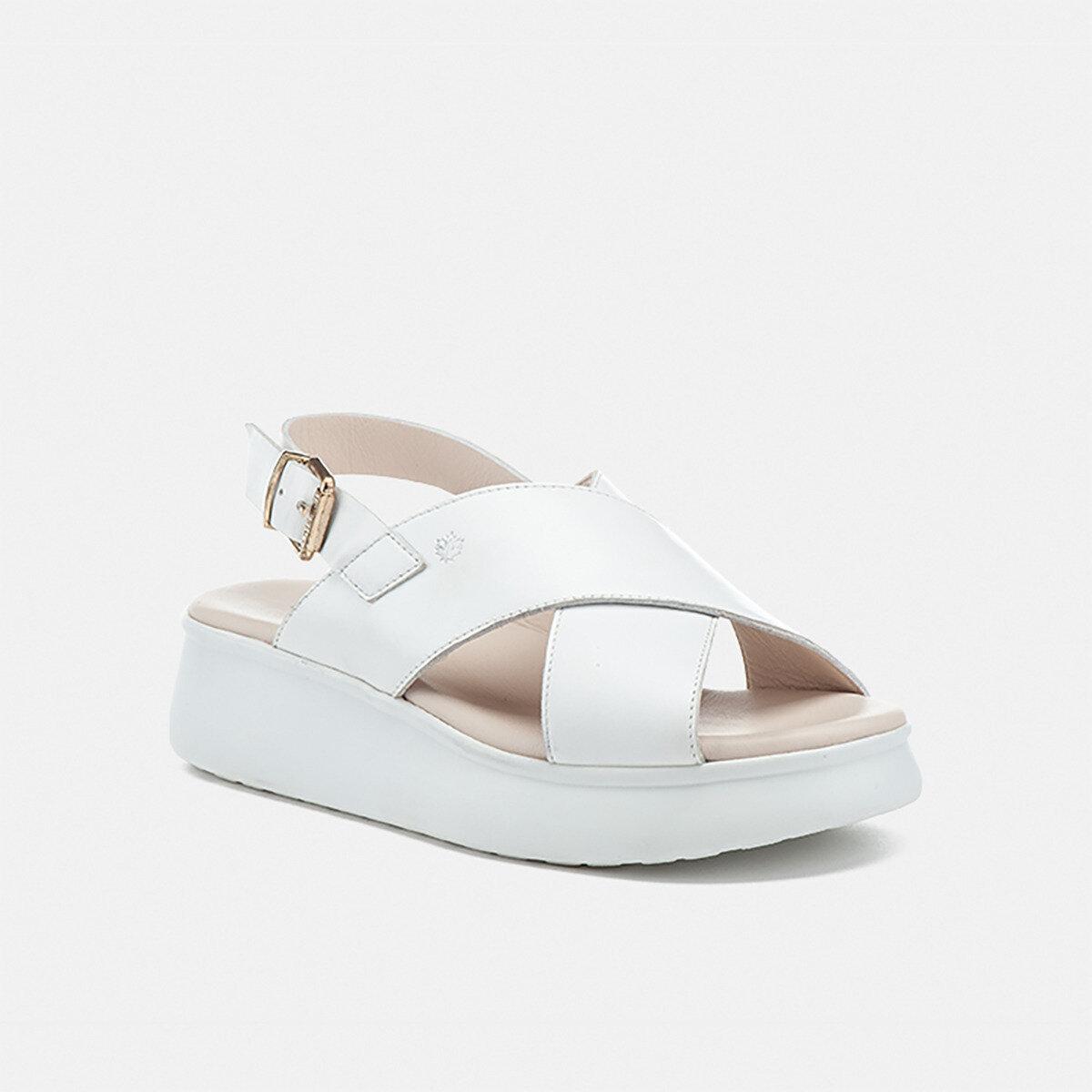 WENDY WHITE Woman Sandals