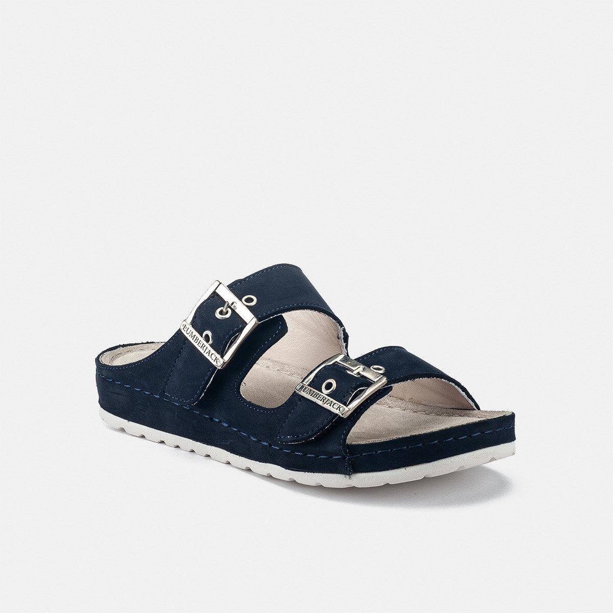 EZA NAVY BLUE Woman Sandals