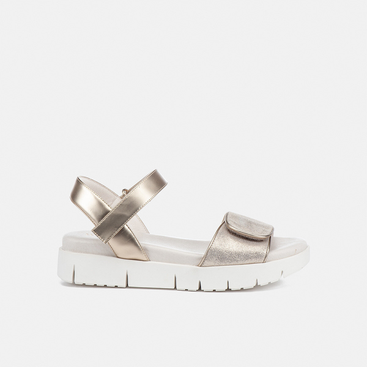 EVETTE PLATINO Woman Sandals