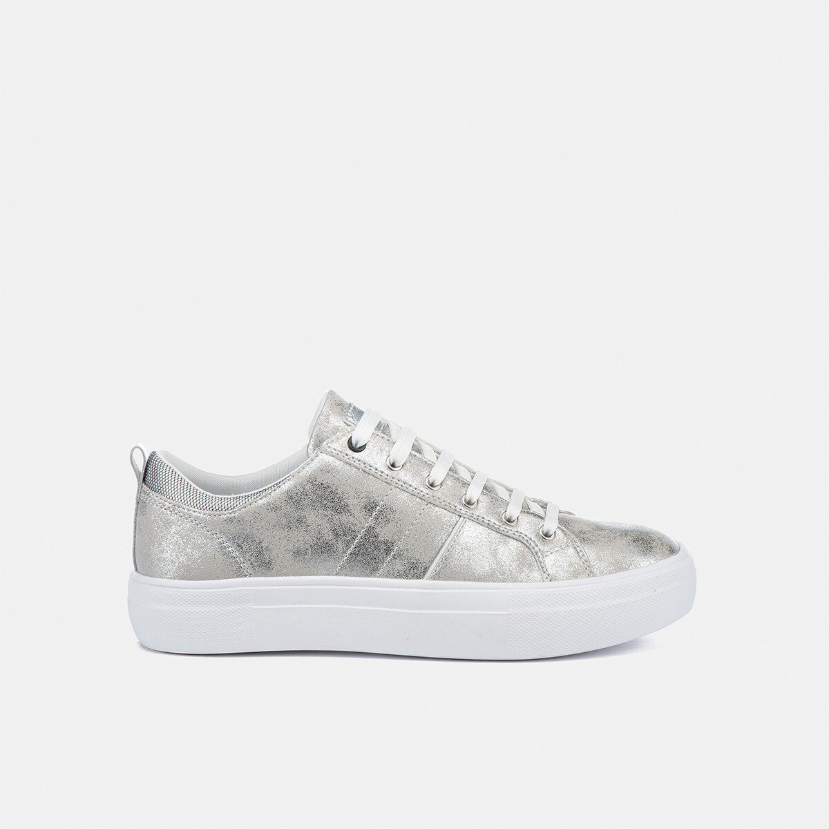 DORIS SILVER Woman Sneakers