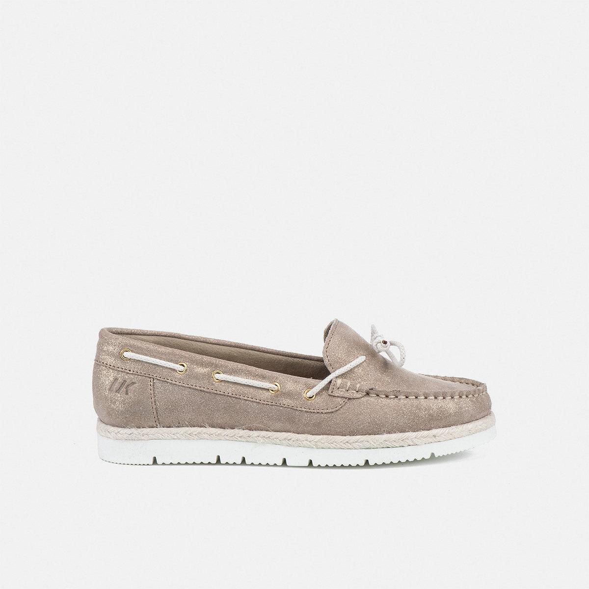 GILDA BEIGE Woman Loafers