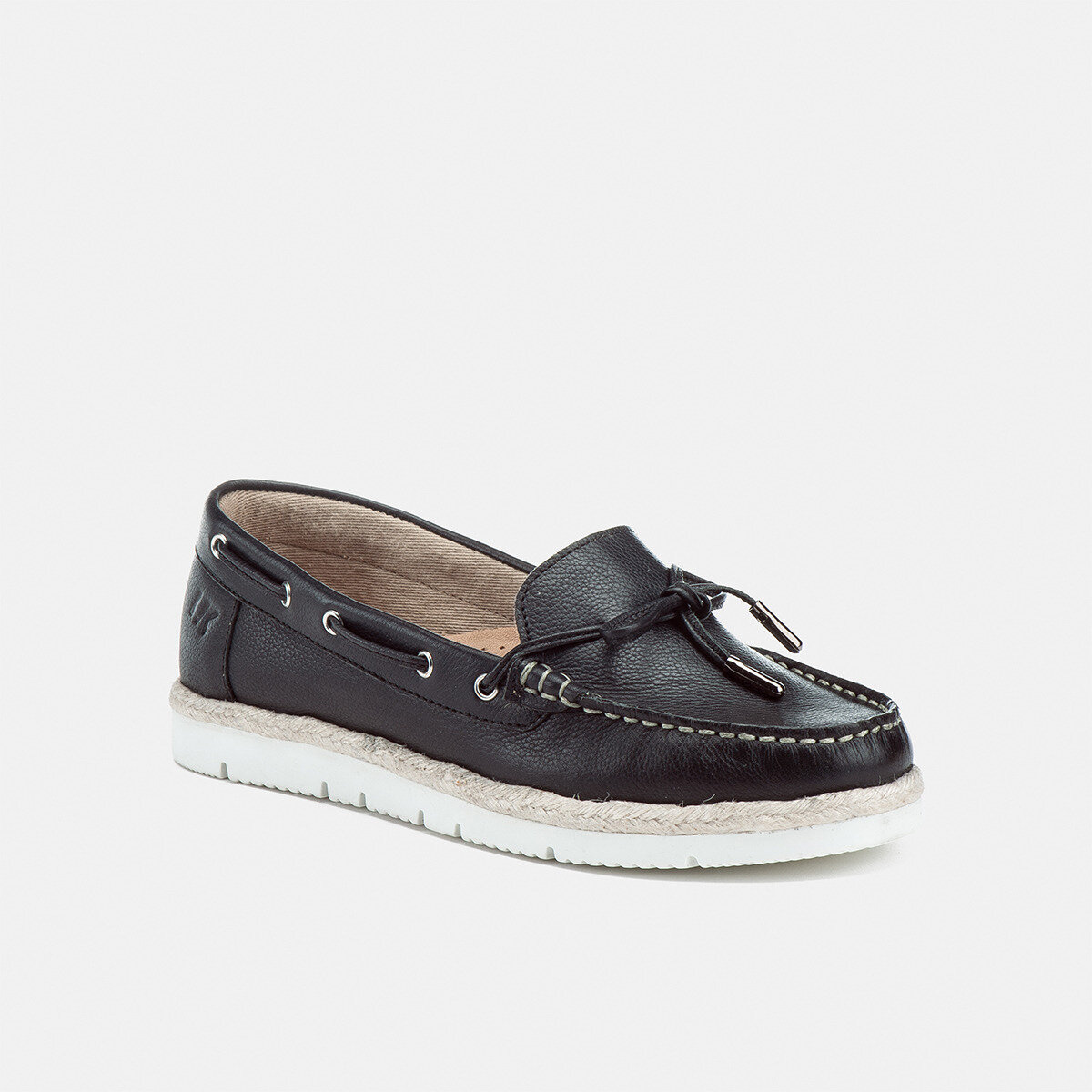 GILDA BLACK Woman Loafers