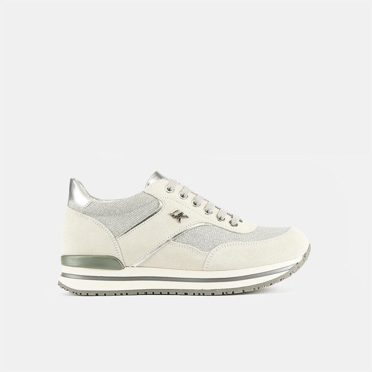 LIKE WHITE/SILVER Woman Sneakers