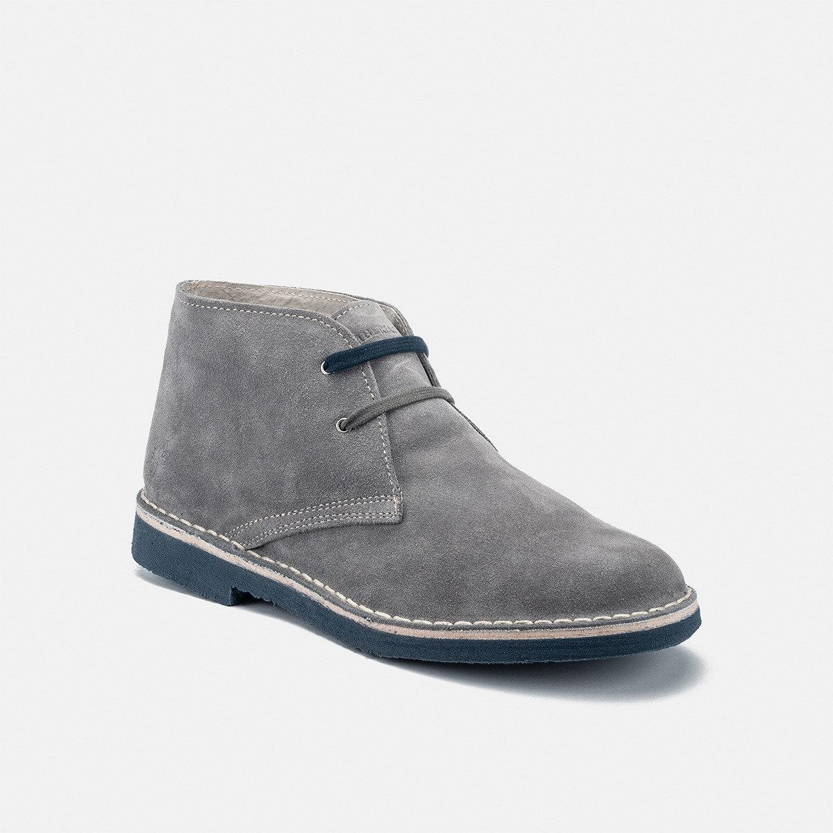 GABLE ASH GREY/AVIO Man Ankle boots
