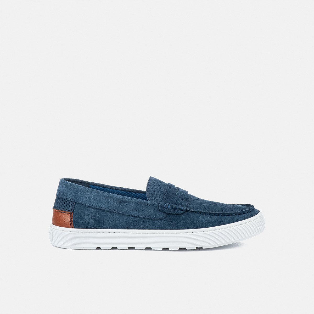 WAYNE MOOD INDIGO BLUE Man Loafers