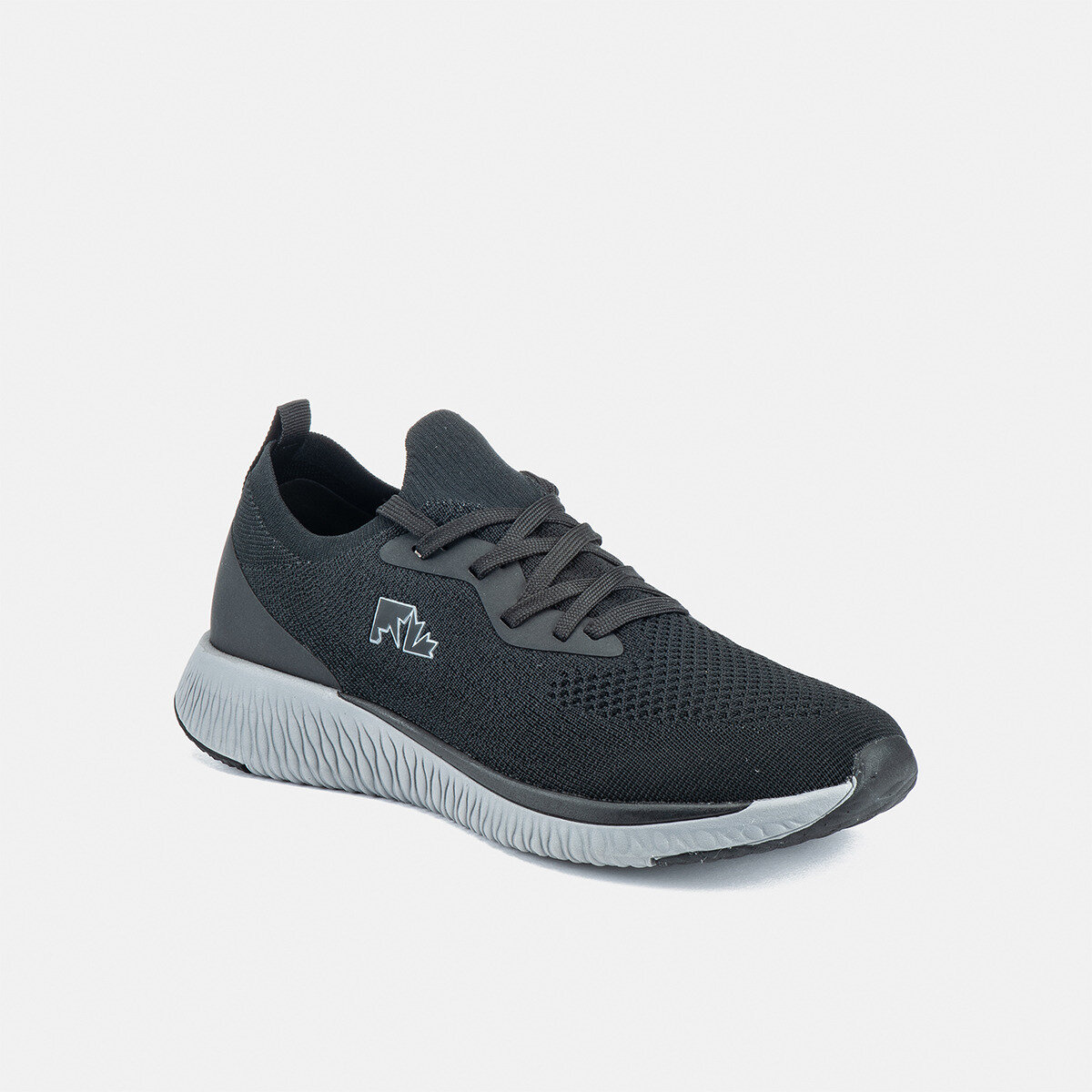 ALLEY BLACK Man Running shoes