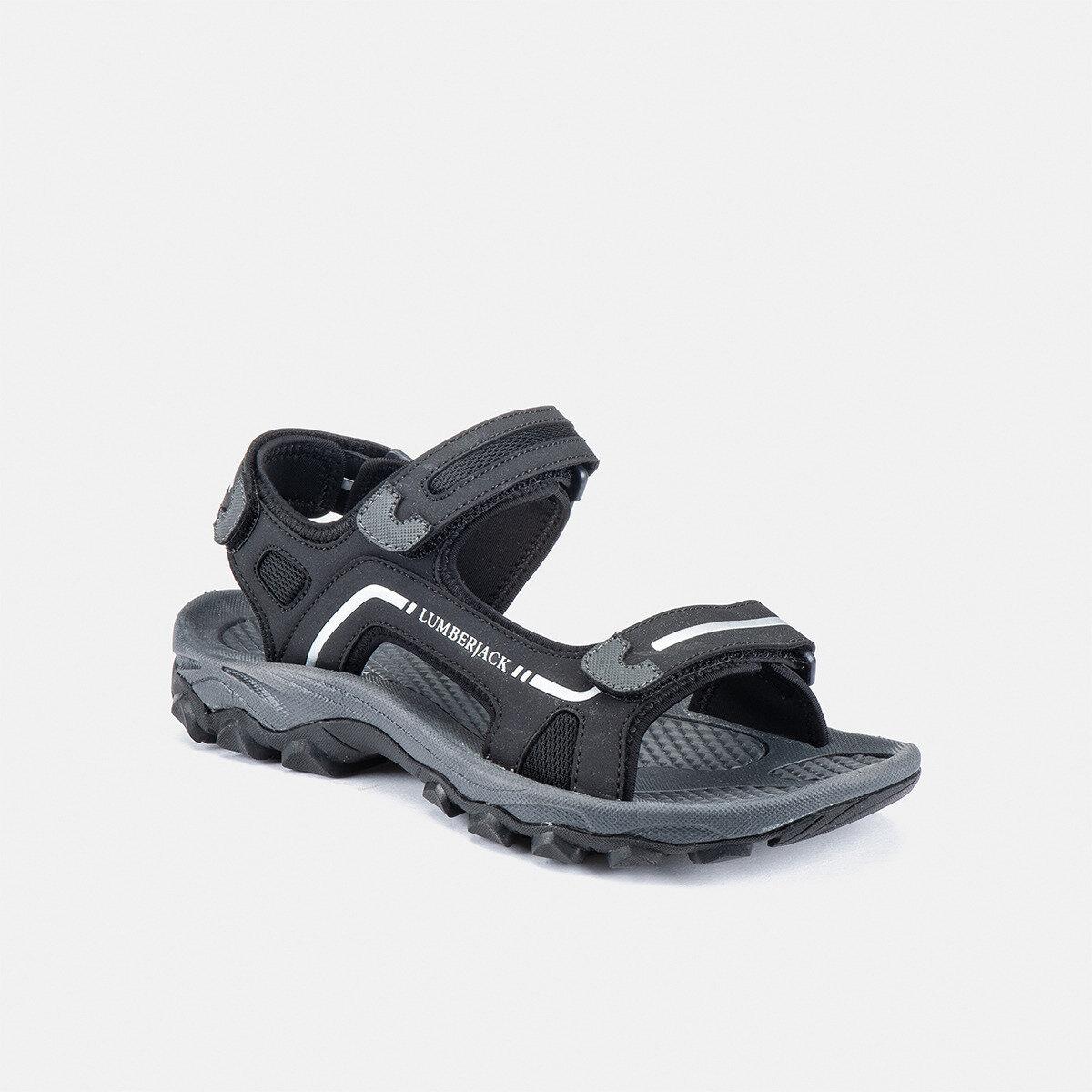 LAGGUN BLACK Man Sandals