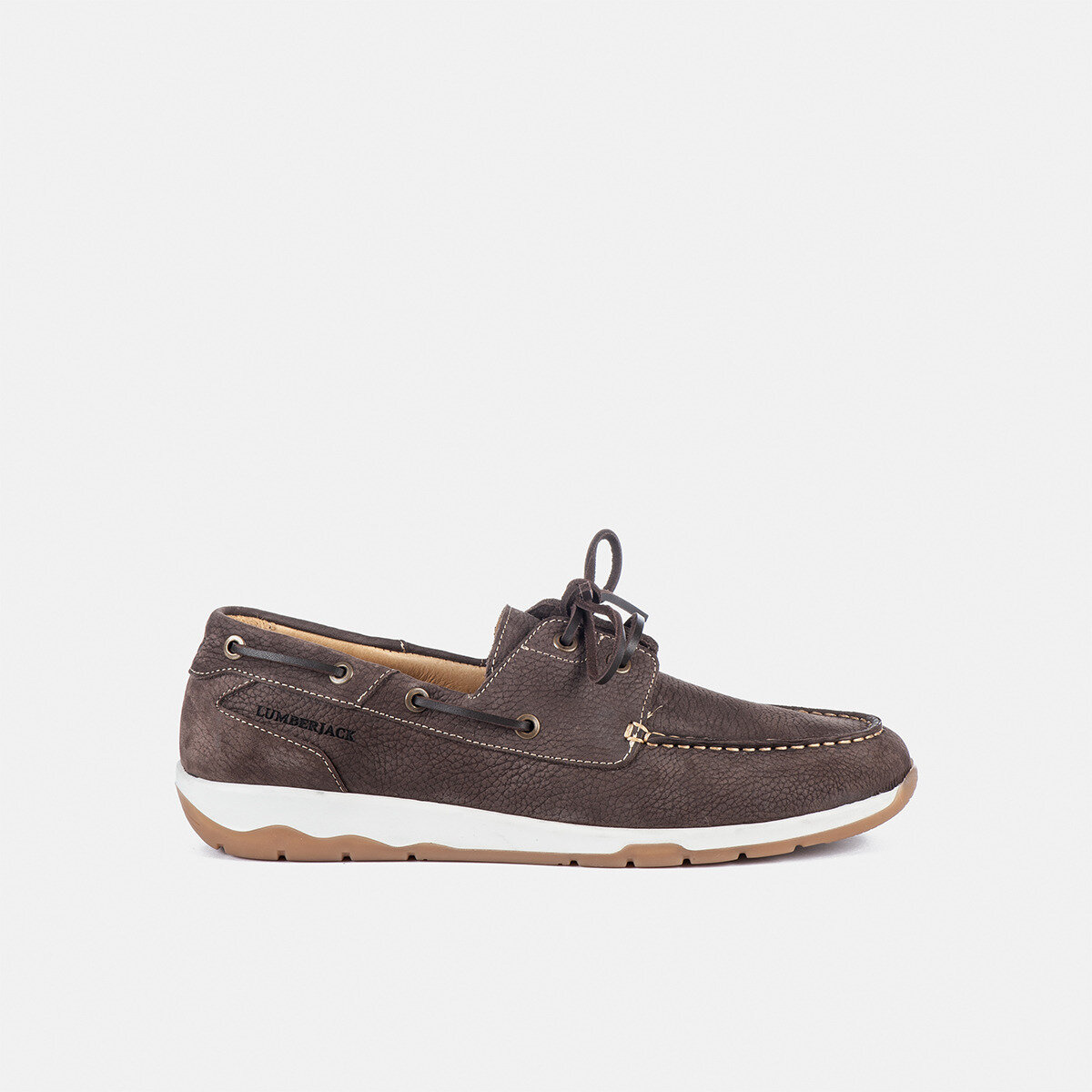 WORRICK DK BROWN Man Boat shoes
