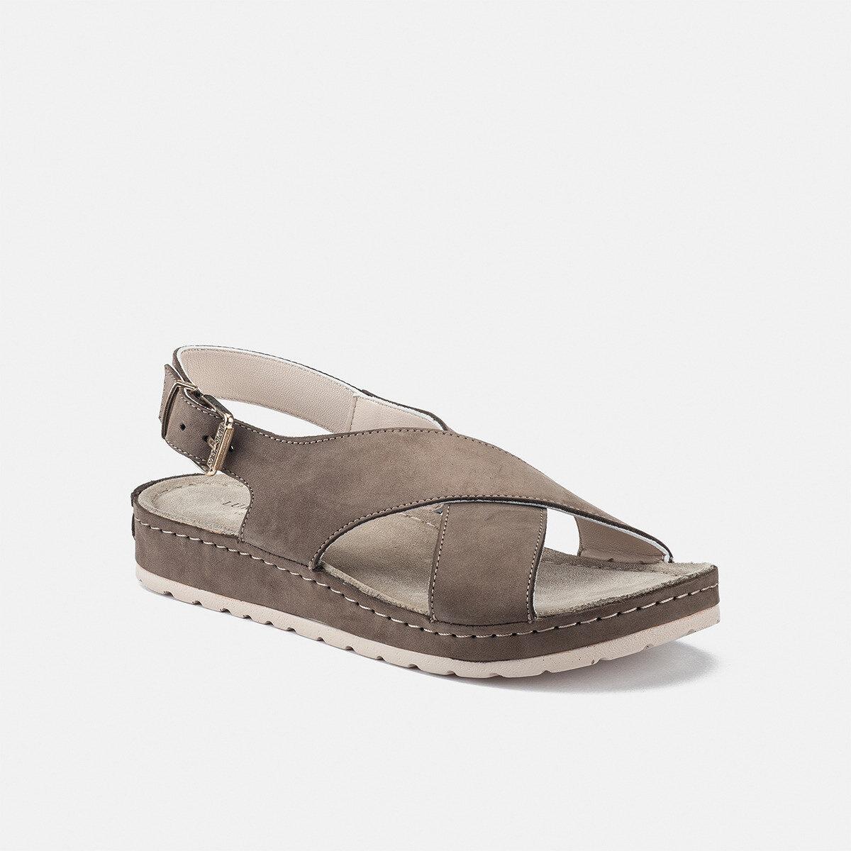EZA Taupe Woman Sandals