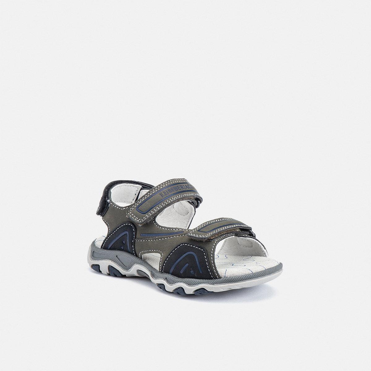 LEVI MILITARY GREEN/BLACK Boy Sandals