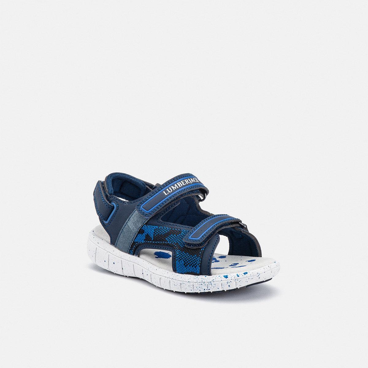 SPONGY NAVY BLUE Boy Sandals