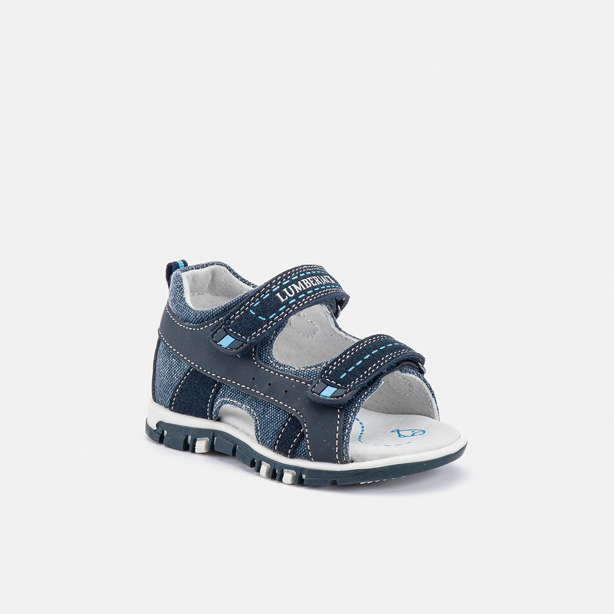 BILLY NAVY BLUE Boy Sandals