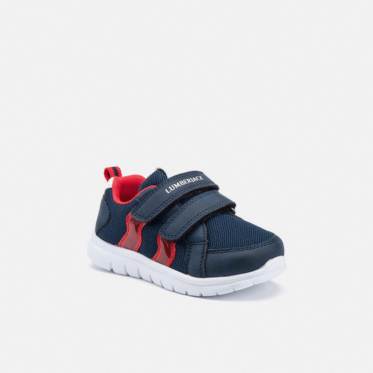 CRASH NAVY BLUE/RED Boy Sneakers