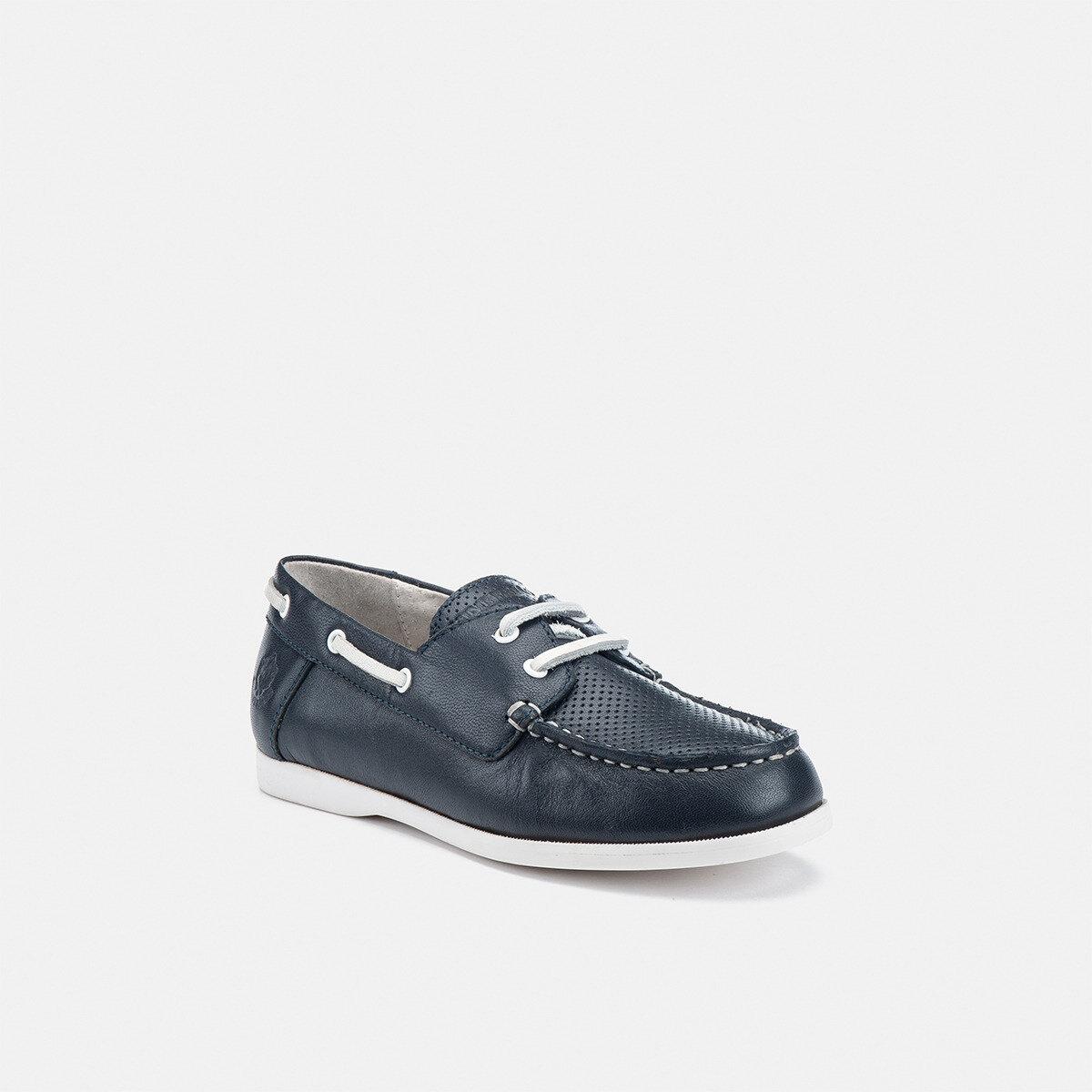 SAILOR NAVY BLUE Boy Boat shoes