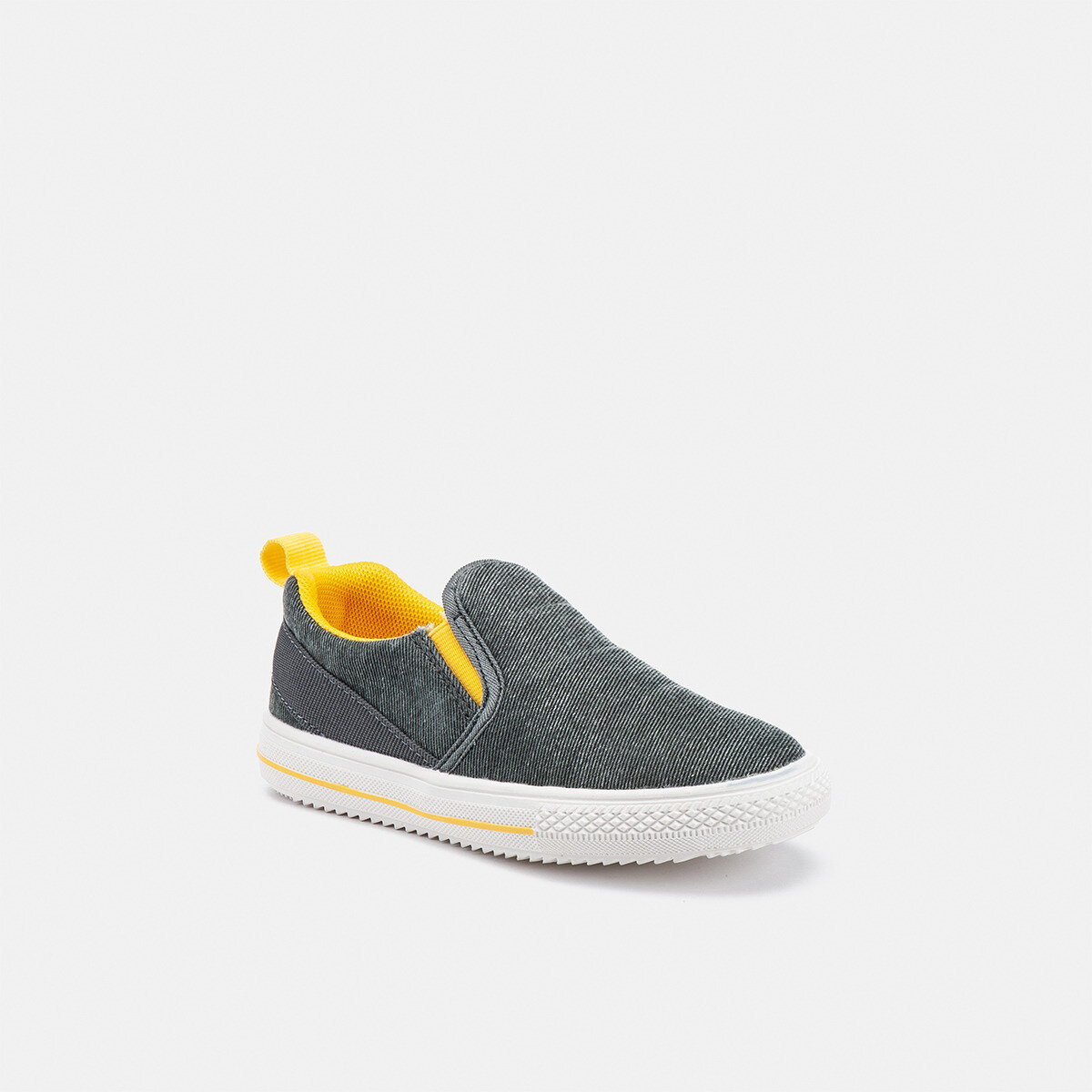 FOLD MILITARY GREEN/YELLOW Boy Sneakers