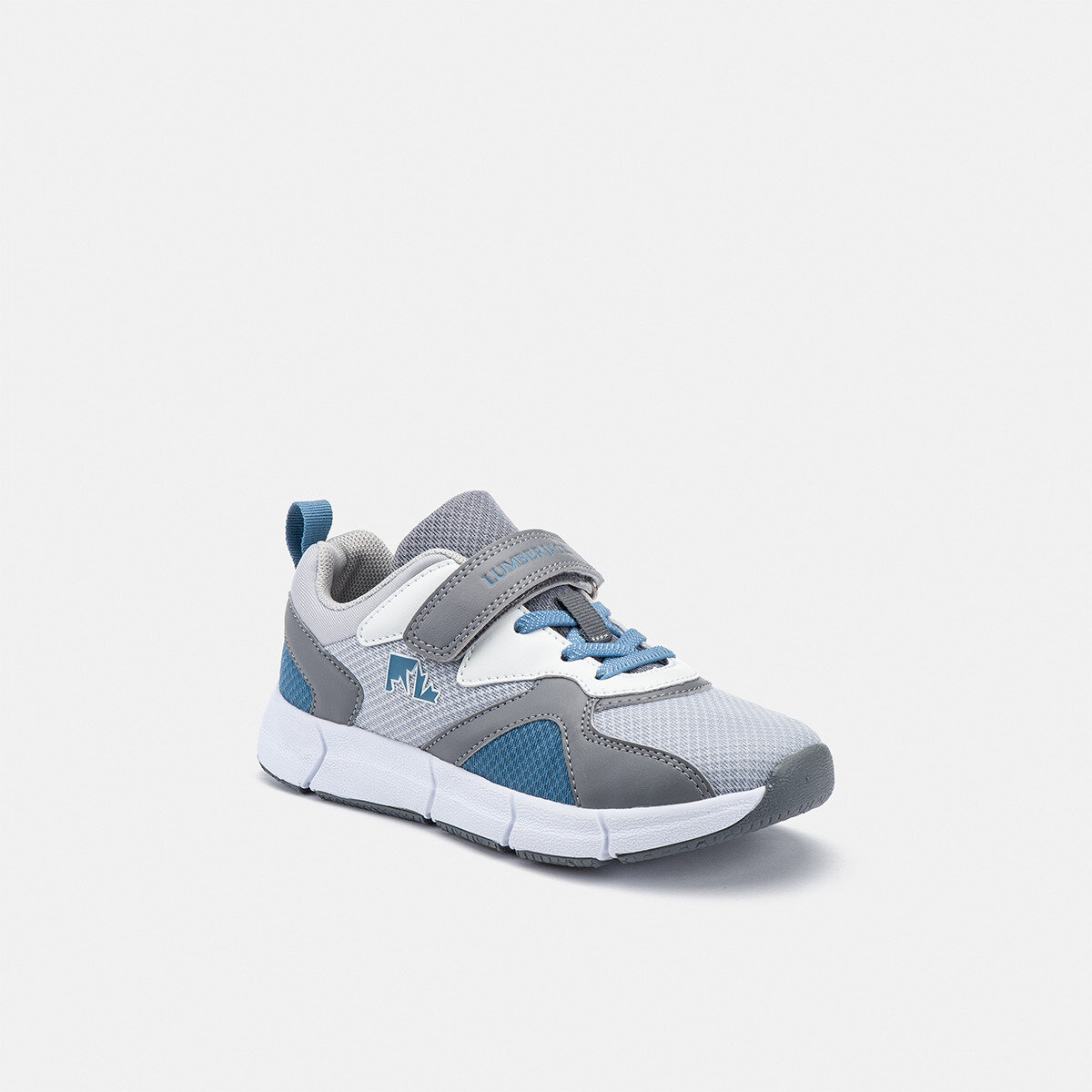BEAVER LT GREY/GREY/ AVIO Boy Running shoes