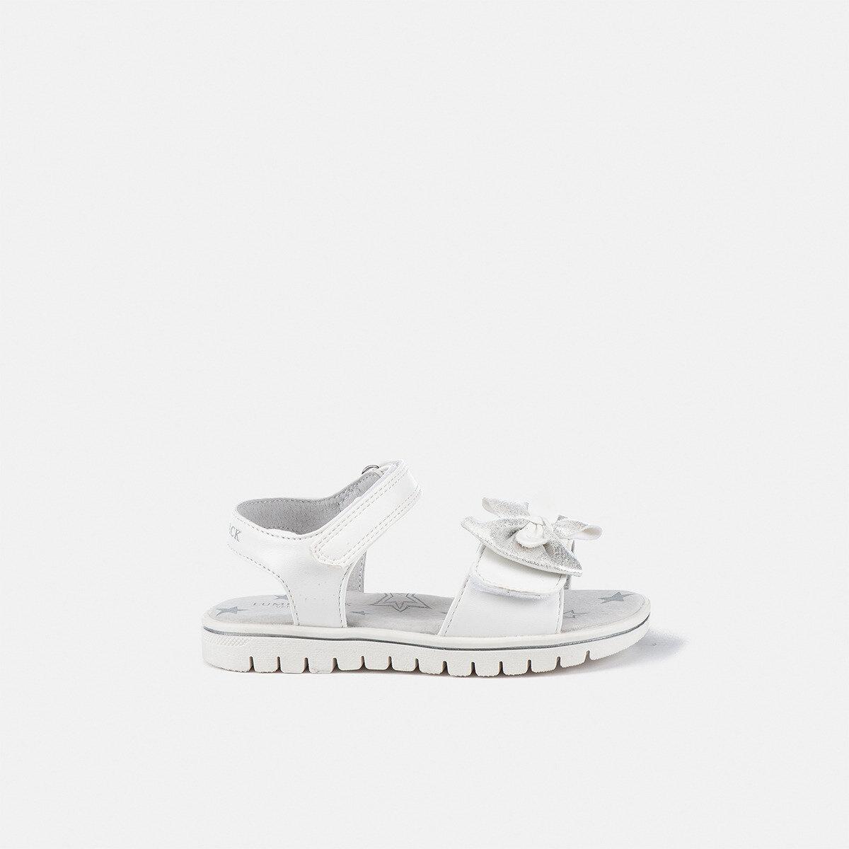 LARA WHITE Girl Sandals