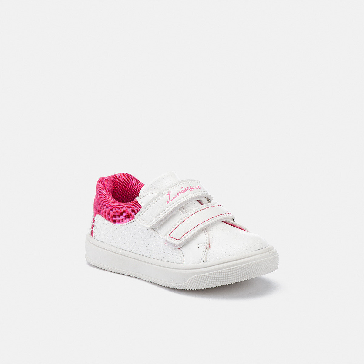 MOBY WHITE/FUXIA Girl Sneakers