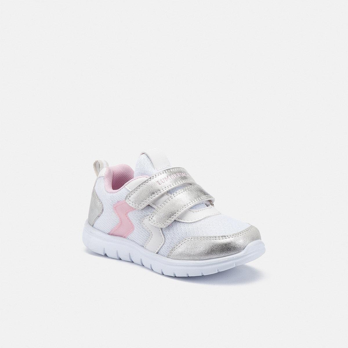 CRASH WHITE/SILVER Girl Sneakers