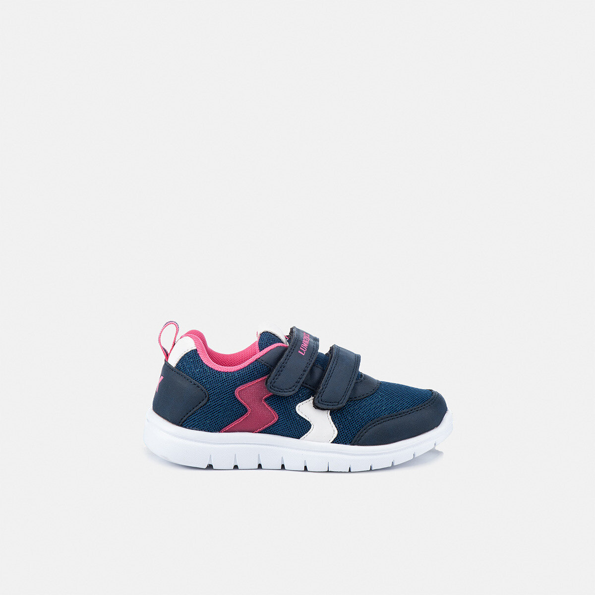 CRASH DK BLUE/FUXIA Girl Sneakers