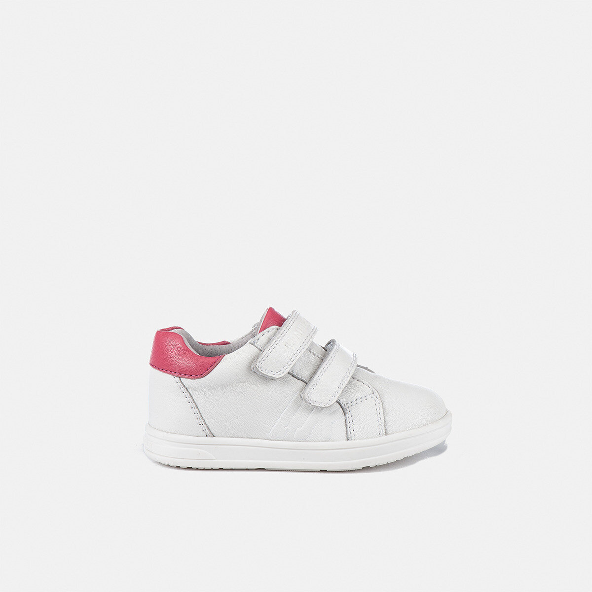 TAPE WHITE/FUXIA Girl Sneakers
