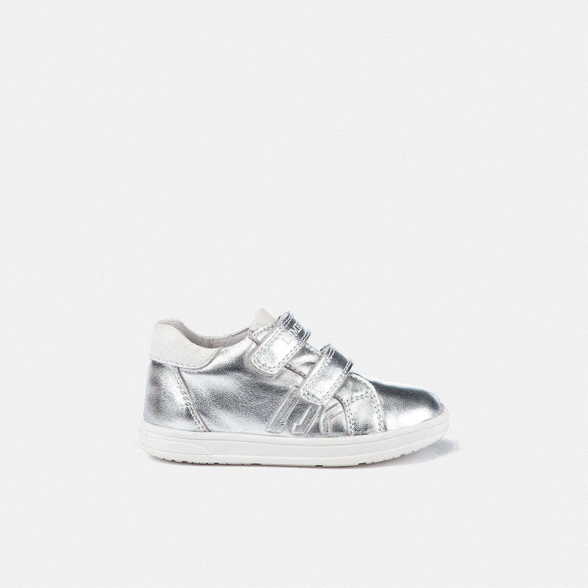 TAPE SILVER Girl Sneakers
