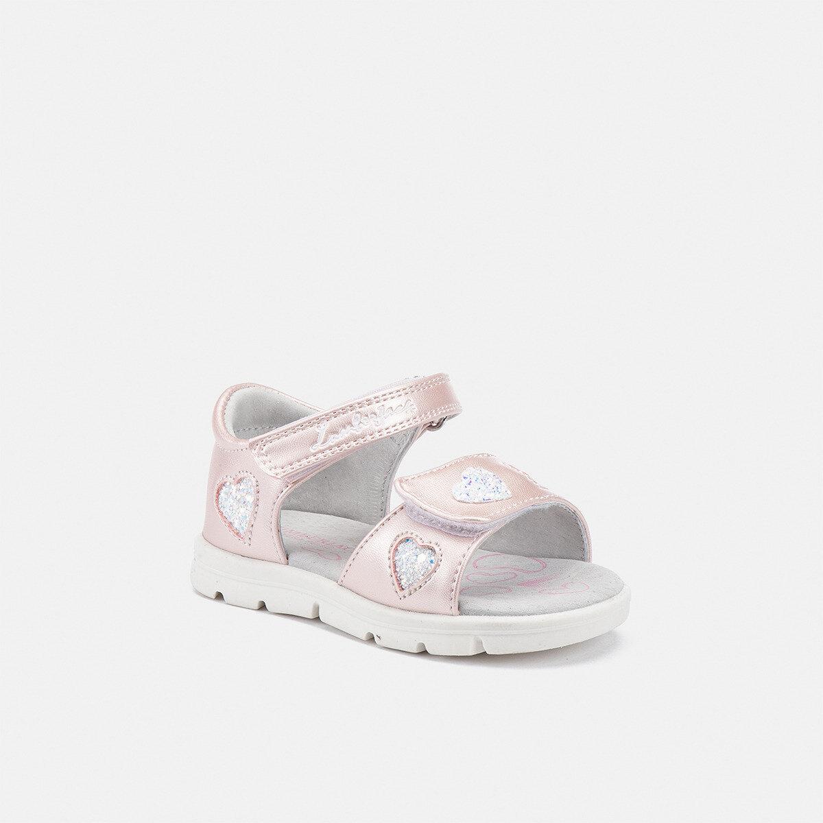 WHIPPY PINK/WHITE Girl Sandals