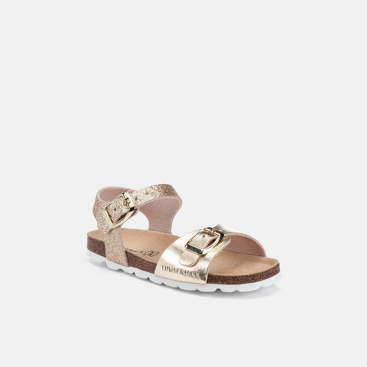 KIRBI GOLD Girl Sandals