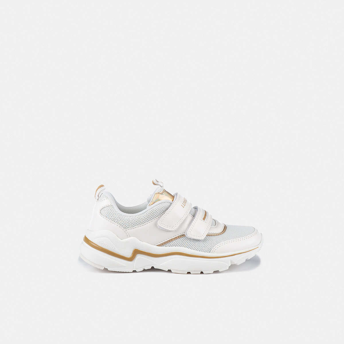 DREW WHITE/GOLD Girl Sneakers